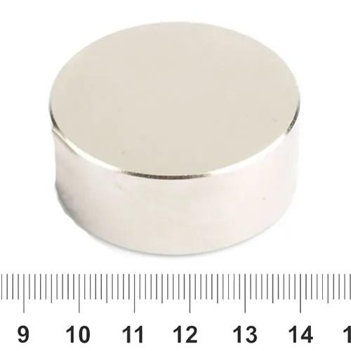 50mm x 20mm Rare Earth Disc Neodymium Magnet N38 Ni