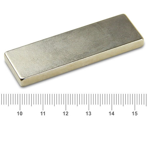 60 x 20 x 5mm Big Strong Magnet NdFeB N50M Ni