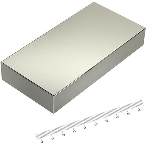 120 x 60 x 20mm Huge Neodymium Permanent Magnet N45 Ni