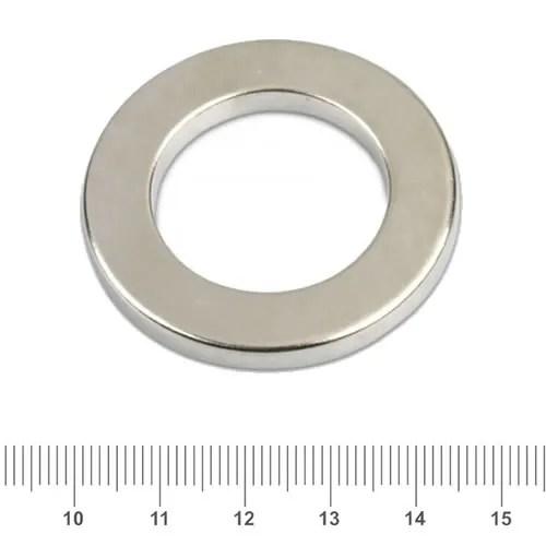 40 x 25 x 5mm Neodymium Speaker Magnet Ring N42 Ni