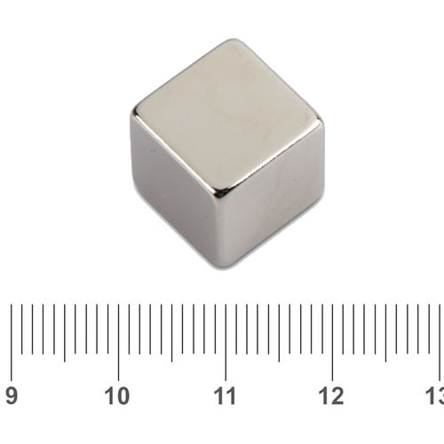 Cube Neodymium Iron Boron Magnet N45 15mm