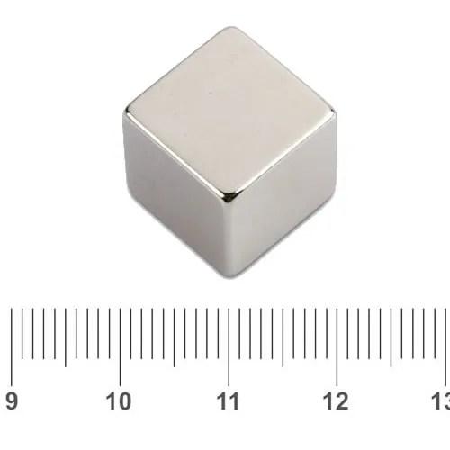 Cube Whiteboard Neodymium Magnet N45 20mm
