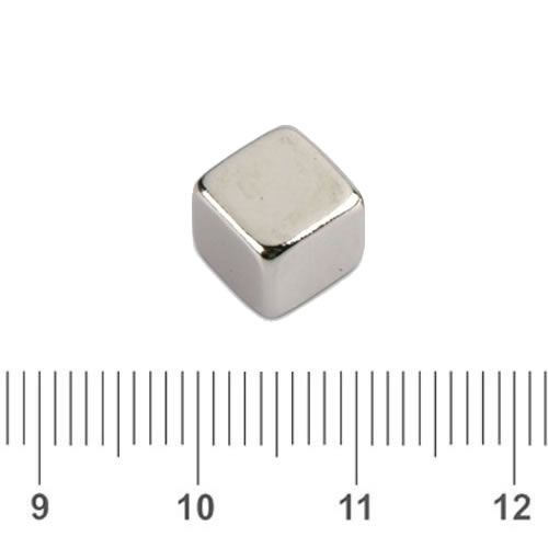 Neodymium Rare Earth Magnetic Cube N40 8mm
