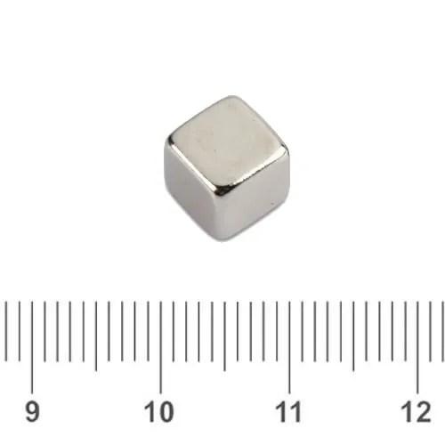 Rare Earth Cube Magnet N45 6mm