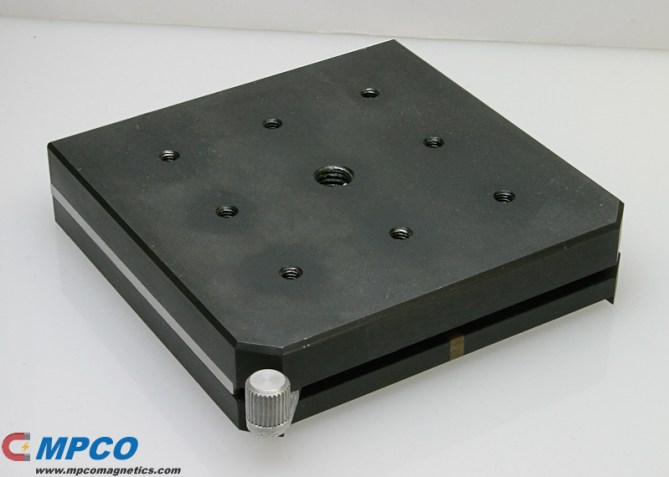 Square Base Magnetic Holding Device