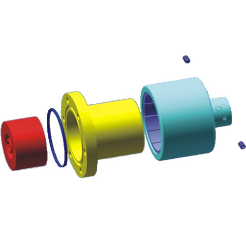 Axel Hole Type Magnetic Couplings