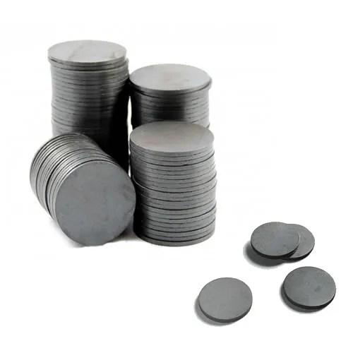 Round Disk Ferrite Magnets