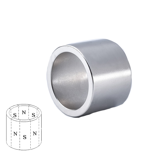 Radial Multiple Poles Ring Magnet
