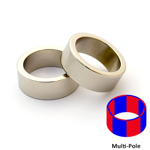 Sintered NdFeB Multi-pole Radial Ring Magnets