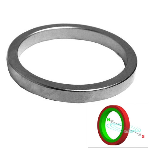 Uni Pole Radial Oriented Ring Magnet