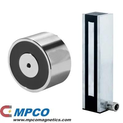 Round & Rectangular Electro Holding Magnet