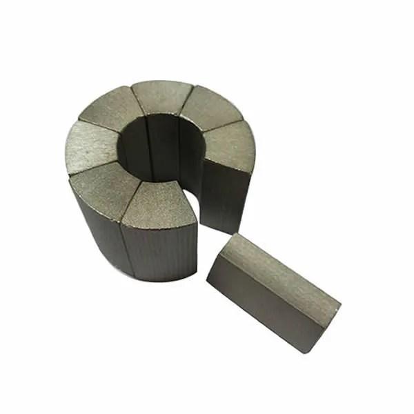Sintered Samarium Cobalt Arc Segment