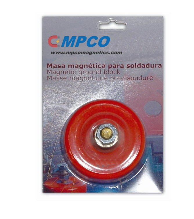 Large Heavy Duty High Power Magnetic Grounding Block