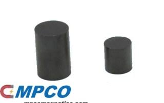 cylindrical ferrite magnet samples