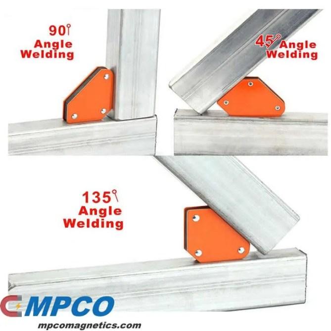 mini magnetic welding holder Angle 45, 90, 135 Degrees