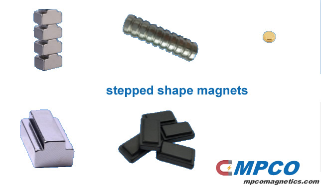 stepped magnets