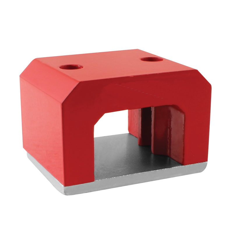 Alnico Horseshoe U-shape Magnet with 2 holes