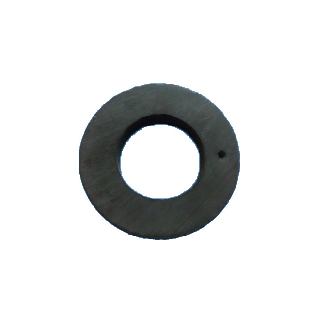 Six-poles Sintered Ferrite Axial Magnetic Ring