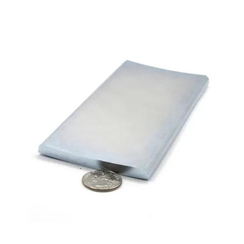 N42M Zinc Plating Arc Permanent Magnet Nodymium