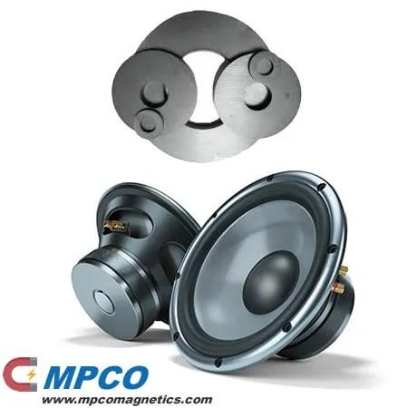 speaker magnet systems