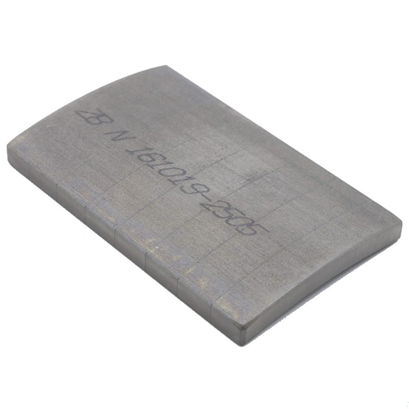 Laminated Segment Magnet for High-Efficiency Motor