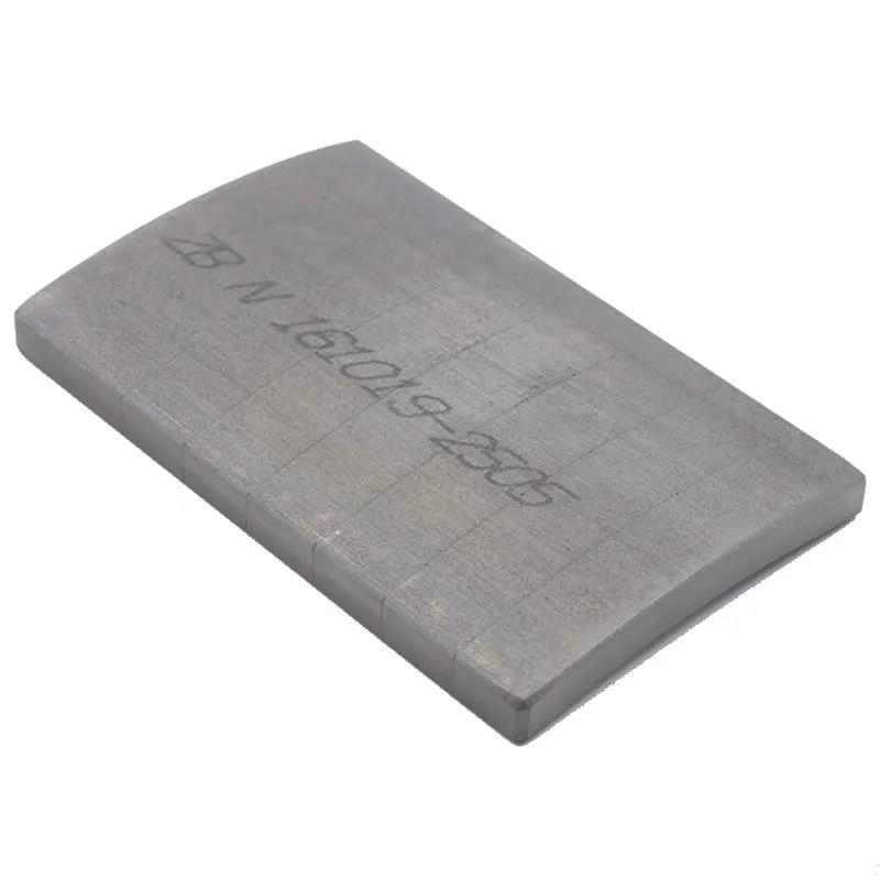 Laminated Segment Magnet for High-Efficiency Motor