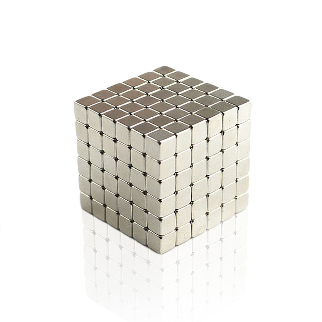 216pcs 4mm Nickel Buckycubes Magnetic Building Toys
