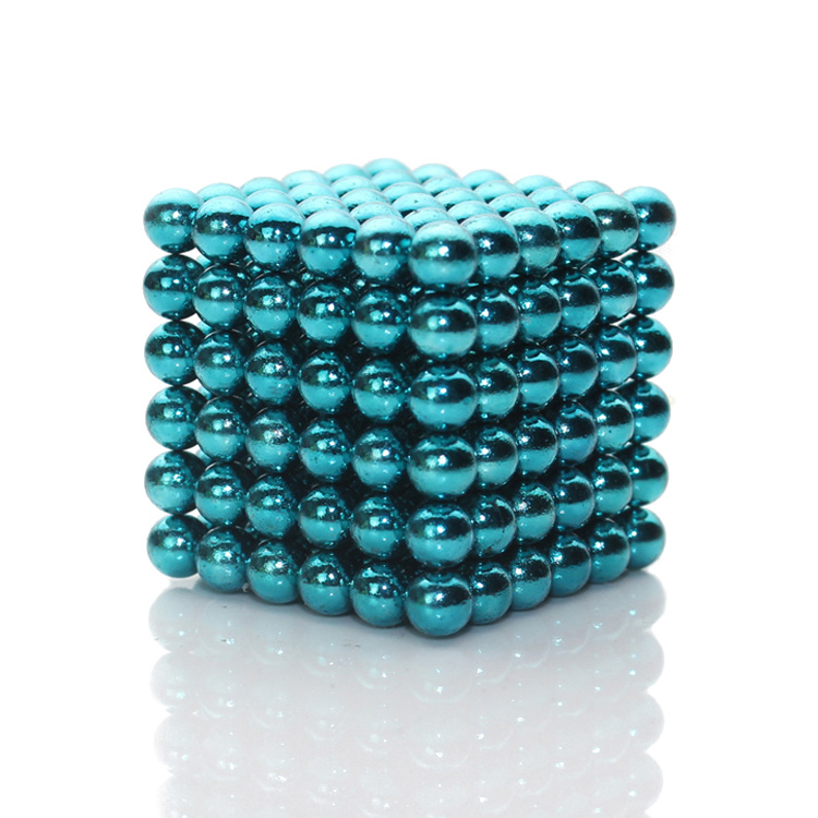 216x5mm Blue-Green Balls Neocube NeoMagnetic Cubes