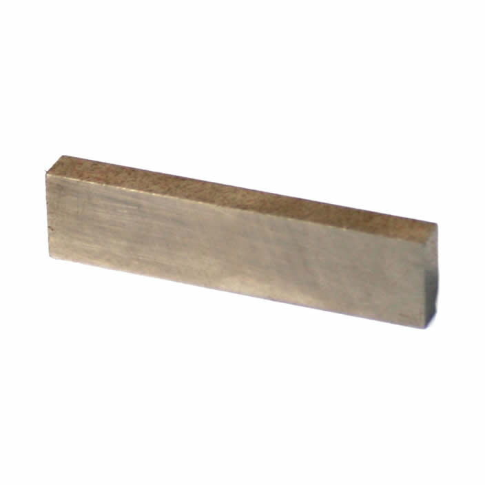 Block Shape AlNiCo Permanent Magnet 50mm X 12mm X 6mm