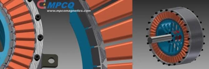 Brushless Custom Magnets Rotor