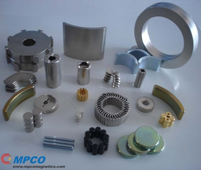 Magnet Background of permanent magnets