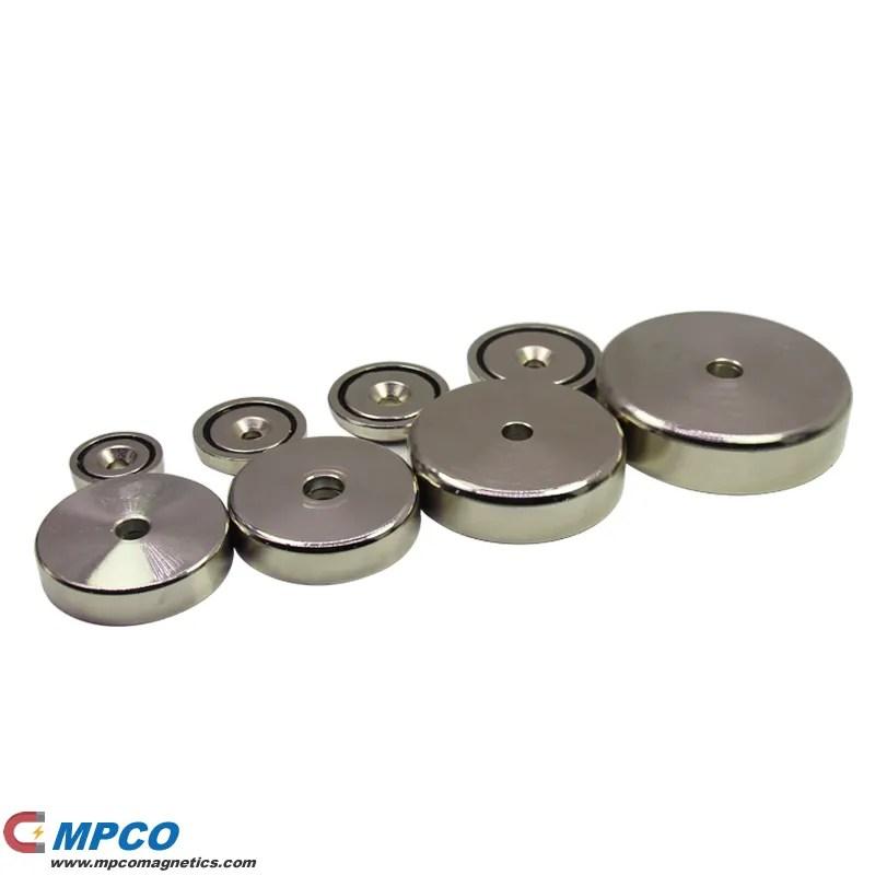 Use Neodymium Countersunk Magnets