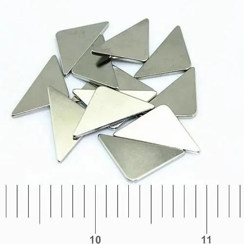 Anti-Corrosion Custom Triangle Neodymium Magnets