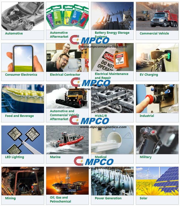 MPCO Magnet used Sensor Industries