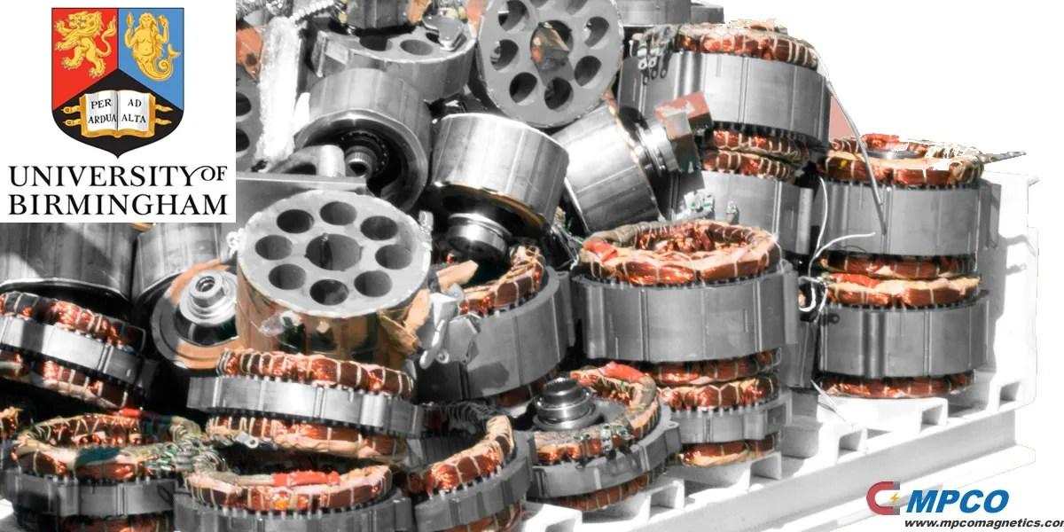 University of Birmingham pilots rare earth metal recycling facility