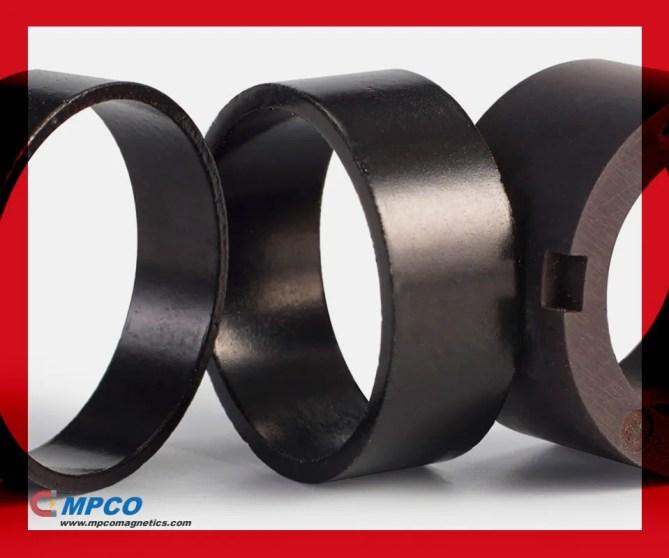 Plastic Bonded Pressed Magnets