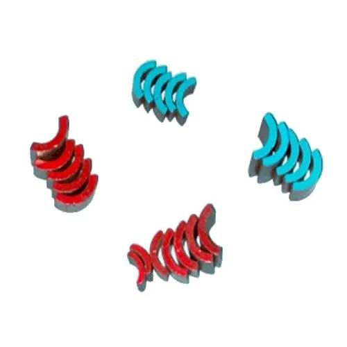 Arc Bonded Neodymium Motor Magnets