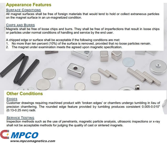 MPCO Permanent Magnet Appearance Features