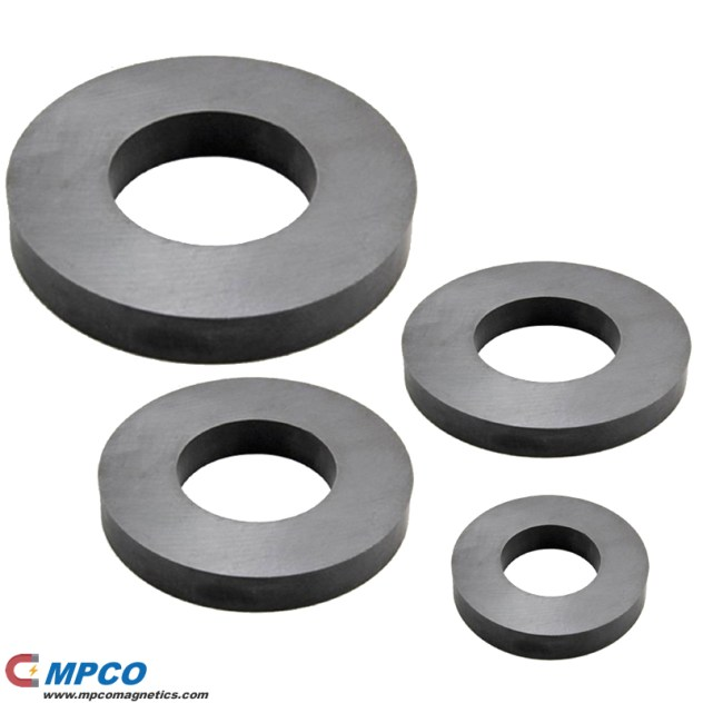 Anisotropic Ferrite Ring Magnets for Speakers