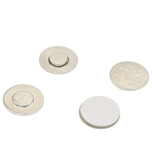 Circle Neodymium Badge Button Magnets
