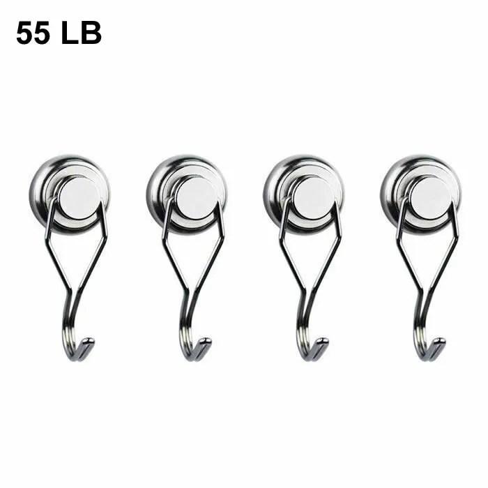 55LBS Capacity Neo Heavy Duty Hook Magnets
