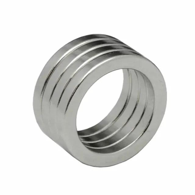 Axially Annular Magnets Sintered Neodymium N48