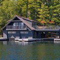 Muskoka boathouse 1 michael preston design