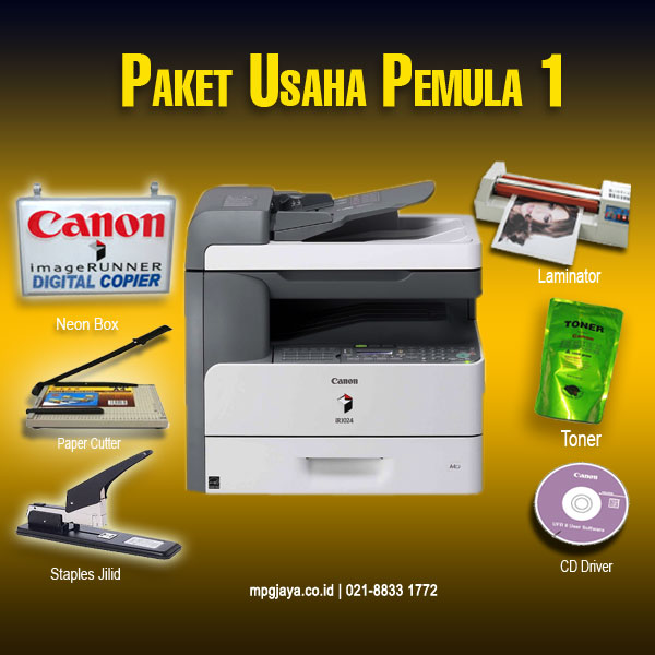 Paket Usaha Fotocopy Pemula