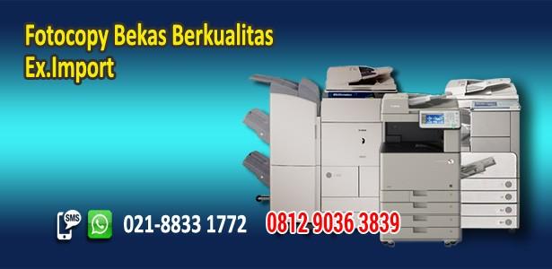 Fotocopy Bekas Rekondisi Import