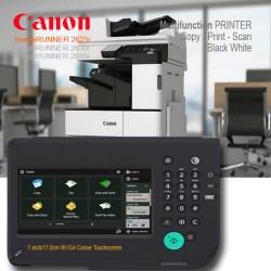 Canon-IR2625i-Layar-Panel