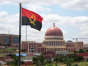 New Administrative Political Centre in Luanda. File photo of Angola parliament.