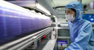 Chinese solar panels manufacturing