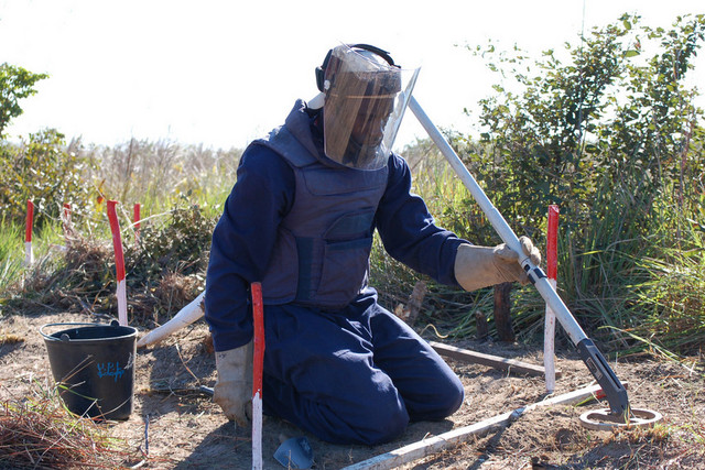 Angola landmines cleared, people free to start new life again. File photo