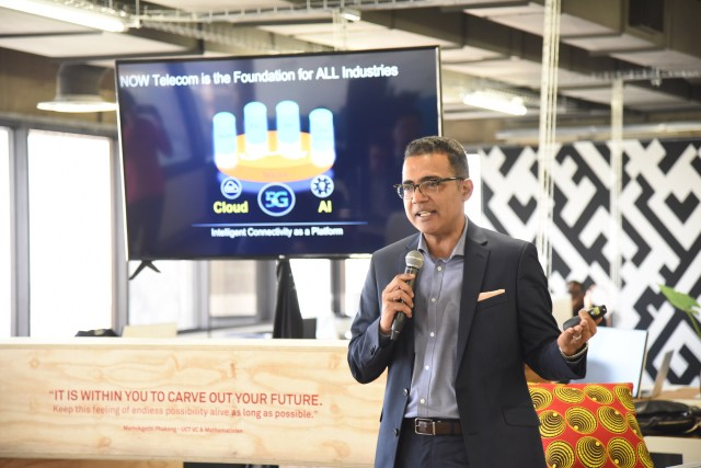 Huawei Vice President for Wireless Networks, Marketing and Solutions, Dr. Mohammed Madkour. Photo by Mthulisi Sibanda, CAJ News
